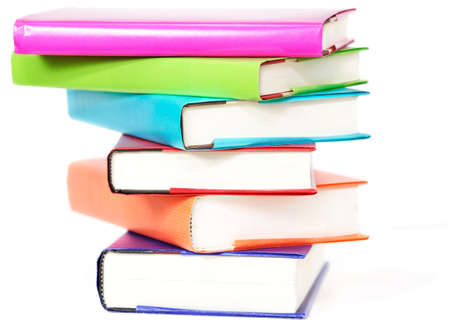 Stack of colorful books Stock Photo - 9821599