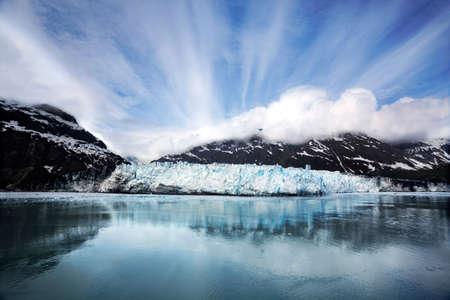 Margerie Glacier in Glacier Bay National Park, Alaska photo