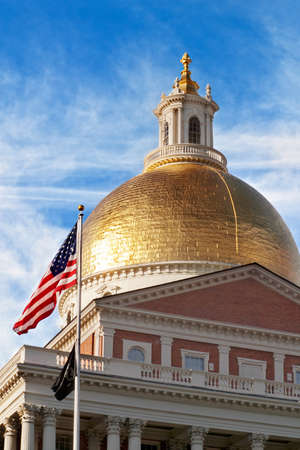 domes: Massachusetts State House dome, Boston