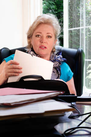 Your paperwork's in here... Stock Photo - 9847240
