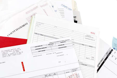 Invoices, statements and bills photo