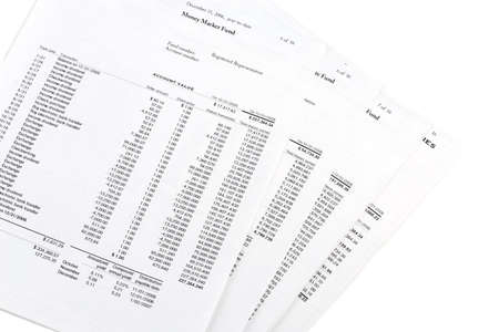 Savings and investments - account statements transaction detail