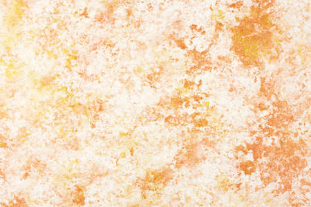 Sponge painted background in gold and copper photo