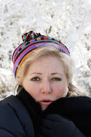 It is getting so cold... photo