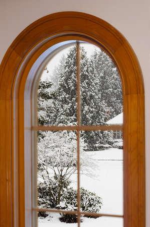 windows frame: Look - it Stock Photo