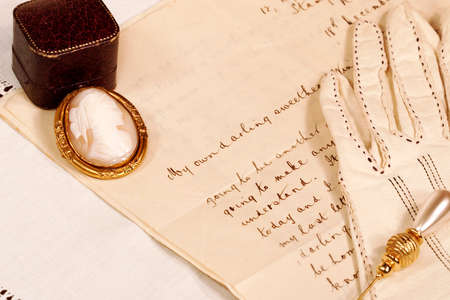 20th: Old fashioned (early 20th century) love letter