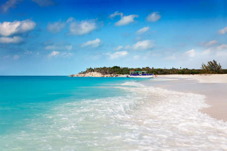 Beautiful Half Moon Bay, accessible only by boat. Turks & Caicos Islands photo