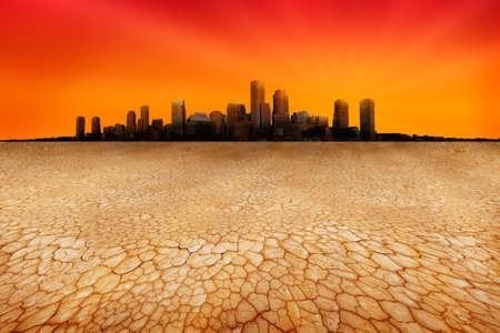 encroaching: Water shortages encroaching on cities