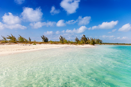 reachable: Secluded (reachable only by boat) lagoon on Little Water Cay, Turks and Caicos Islands. On the same spit of land as Half Moon Bay