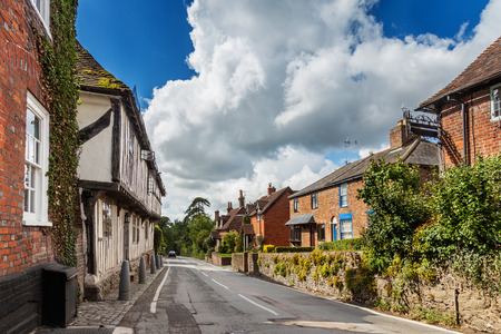Historic Malthouse on Upper Street, Hollingbourne, Kent photo
