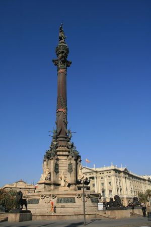 christopher: Square of Christopher Colombus, Barcelona