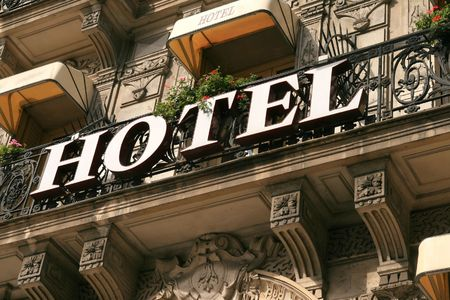 hotel building: Hotel