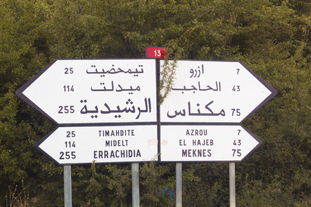need direction: Which direction you need to take in Morocco
