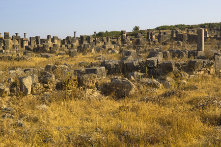 volubilis: Volubilis ruins Stock Photo