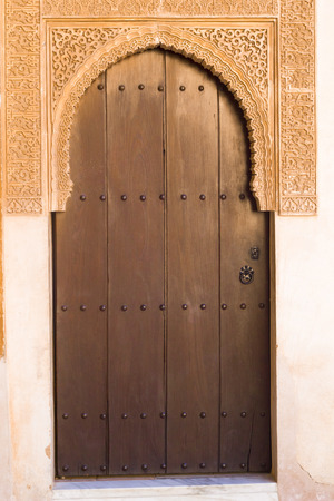 intricacy: Islamic Art, Arab Doorway - Alhambra Palace