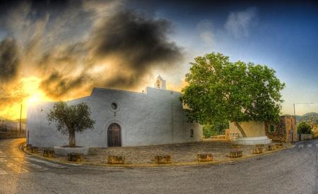 chaplain: Ibiza Stock Photo
