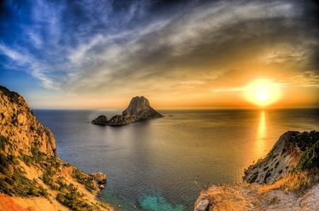 vedra: Ibiza Stock Photo