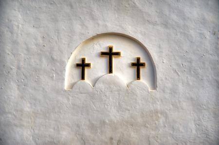 three crosses photo