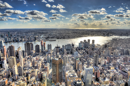 world trade center: The Big Apple - New York Stock Photo