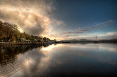 Windermere is the largest natural lake in England. in the lake district