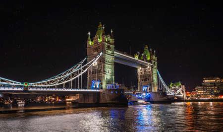 The fascinating Tower Bridge in London, UK