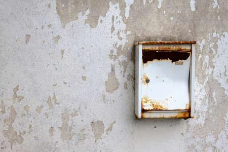 degrade: Old mail box Stock Photo