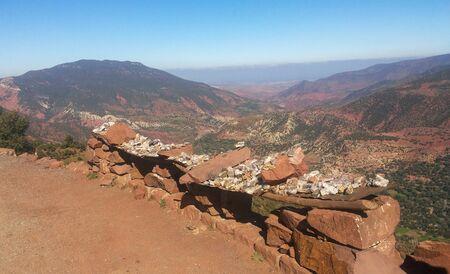 Beautifill landscape in Atlas Mountains in Morocco