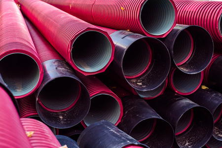 Large pipes for underground electrical cables