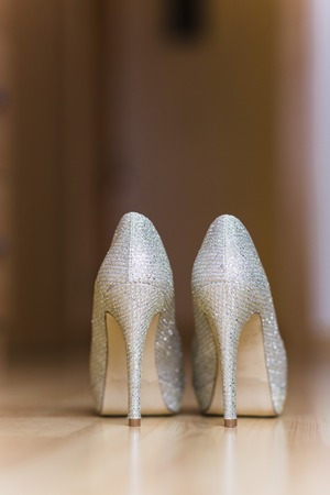 High heels shoes for women on their wedding day