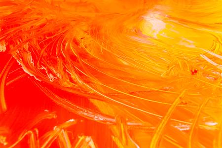 Détail des coups de pinceau de couleurs aléatoires à utiliser comme arrière-plan et texture dans l'artisanat à l'école. Banque d'images
