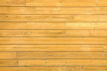 Background of varnished natural wood boards. Stock Photo