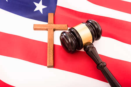 Religious American Catholics taken to a court of law.