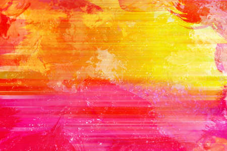 Abstract background in bright summer colors with horizontal lines.