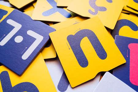 Montessori letter cards, finger swipe texture, enhances dyslexic children's learning.