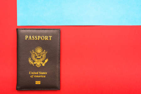 Mandatory American passport for travel abroad for US citizens.