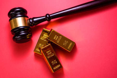 The holding of gold to protect against inflation is monitored by the courts.