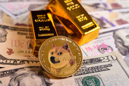 Dogecoin is a new cryptocurrency with no real value but with which traders have been speculated to achieve large profits.