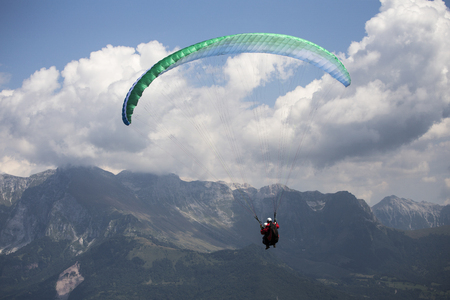 Paragliding in Adrenaline Valley, Slovenia