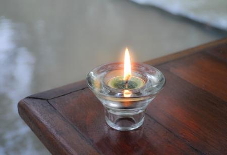 impassive: candle light