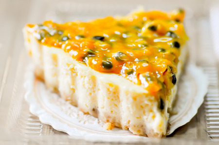 Passion Fruit Tart dessert dish