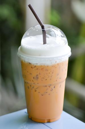 t� helado: thai vaso de t� helado de leche, t� helado con leche, t� helado
