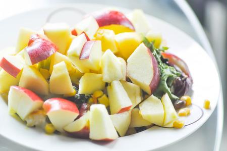 sliced apple: apple salad or salad or sliced apple dish