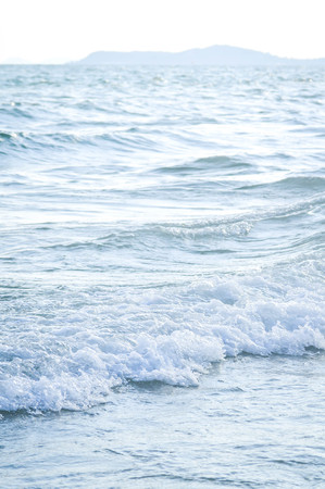 spurt: wave from the sea in blur background