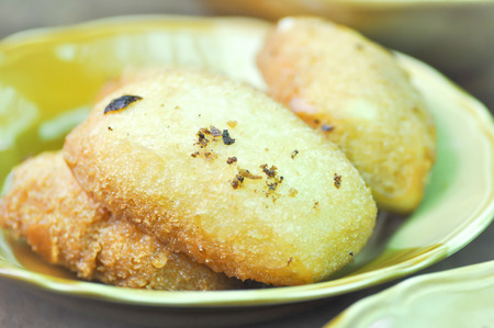 fried bun dish in Chinese style