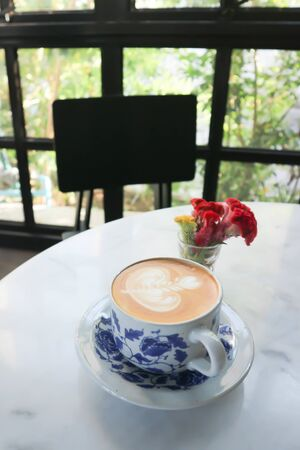 coffee or cappuccino coffee ,latte coffee