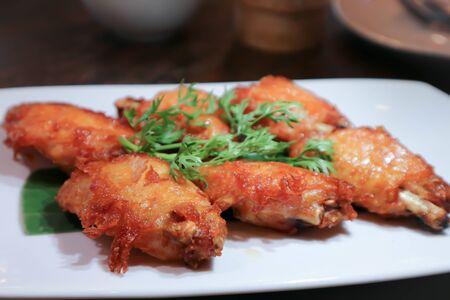 deep fried chicken , fried chicken or chicken wings