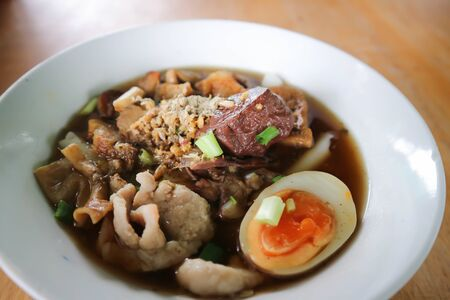 noodle, Chinese noodle or pork noodle