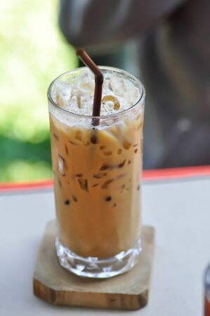 coffee or iced coffee , iced latte