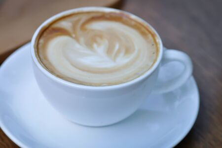 hot coffee or cappuccino, latte