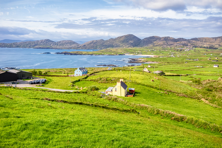 A beautiful panorama of the Ring of Kerry